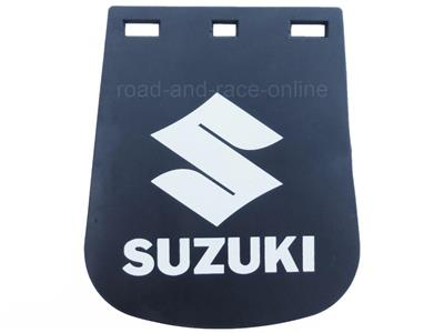 Motorcycle Mudflap Small with Suzuki on Mudflap 120mm x 165mm