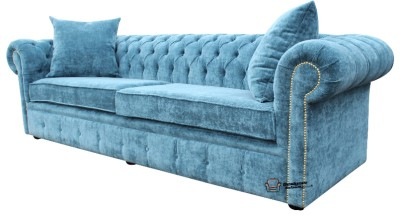 Chesterfield Original English 4 Seater Elegance Teal