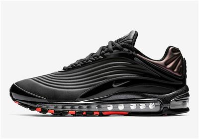 Details about NIKE AIR MAX DELUXE SE AO8284 001 BLACKANTHRACITEBRIGHT CRIMSON IRIDESCENT