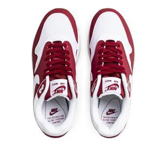 Mujeres Nike Air Max 1 319986 608 Rojo Crush (marrón)BlancoSuela de goma | eBay