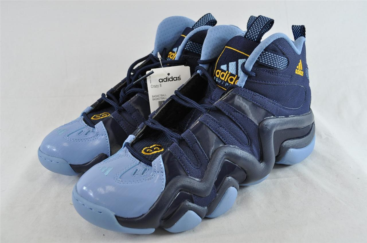new products 71f56 d47d5 Adidas Kobe Crazy 8 G23685 Navy Blue Light Blue Basketball Shoe Torsion  System