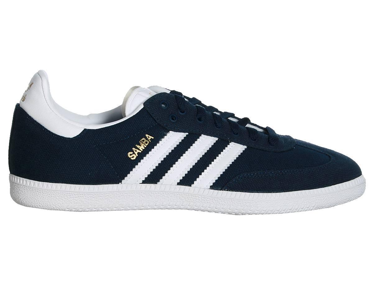 901ae2d0ff A imagem está carregando G51493-Samba-Adidas-colegial-azul-marinho-Branco -Ouro-