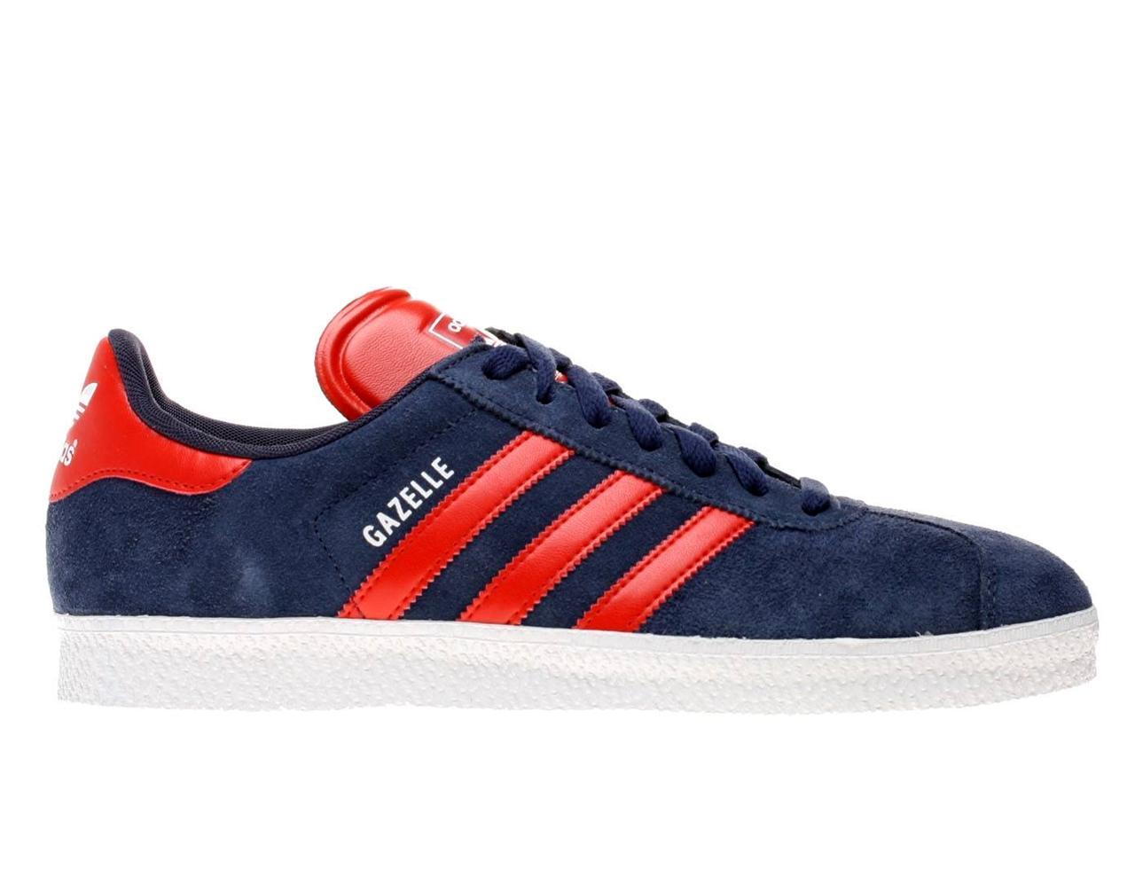 0d0de9c9eb00fc adidas gazelle navy with light blue stripe   Défi J arrête, j y gagne!