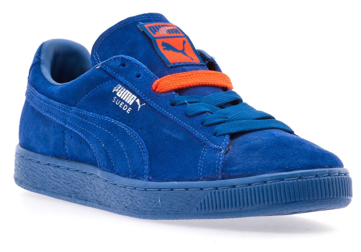 half off fd63d 94218 puma suede blue and orange