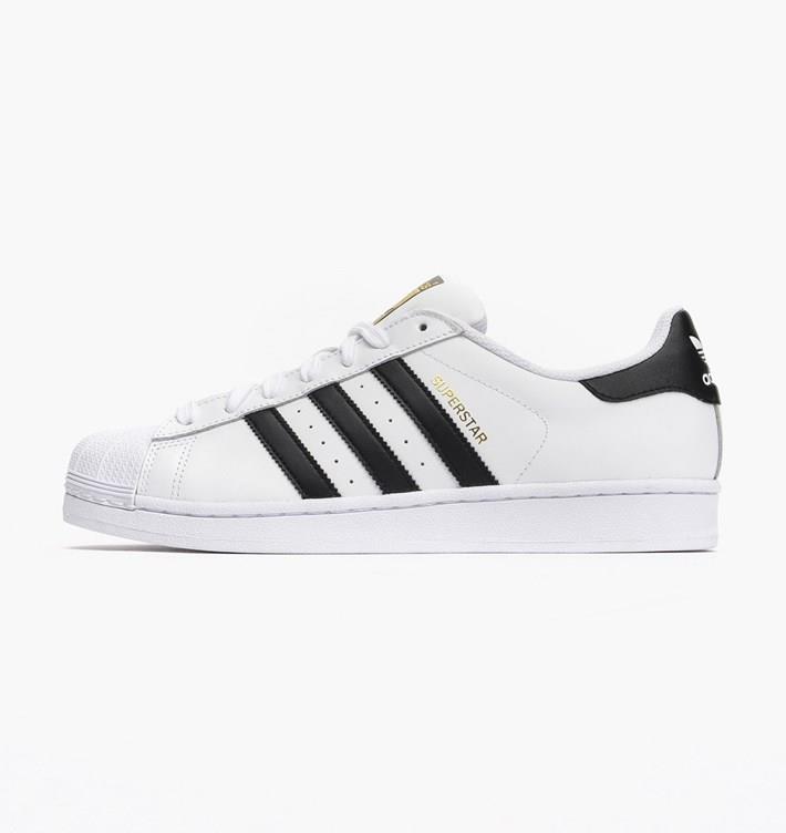Adidas Men S Superstar Foundation Shoes White