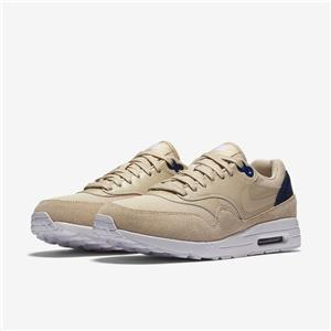 Details about W NIKE AIR MAX 1 ULTRA 2.0 881104 101 OATMEAL TAN BROWNBINARY NAVY BLUE WHITE