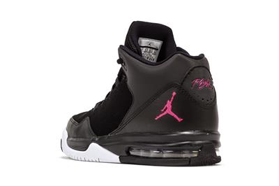 fee738bd89767 AIR JORDAN FLIGHT ORIGIN 2 GG 718075 009 BLACK/HYPER PINK-WHITE ...