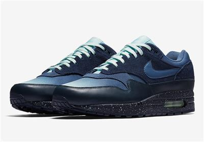 Details about NIKE AIR MAX 1 PREMIUM FADE 875844 402 OBSIDIAN NAVYDIFFUSED BLUEOCEAN BLISS