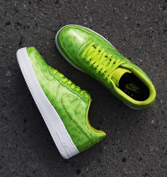 New Nike AIR FORCE 1 `07 LV8 UV AJ9505-300 CYBER White Mens Shoes c1