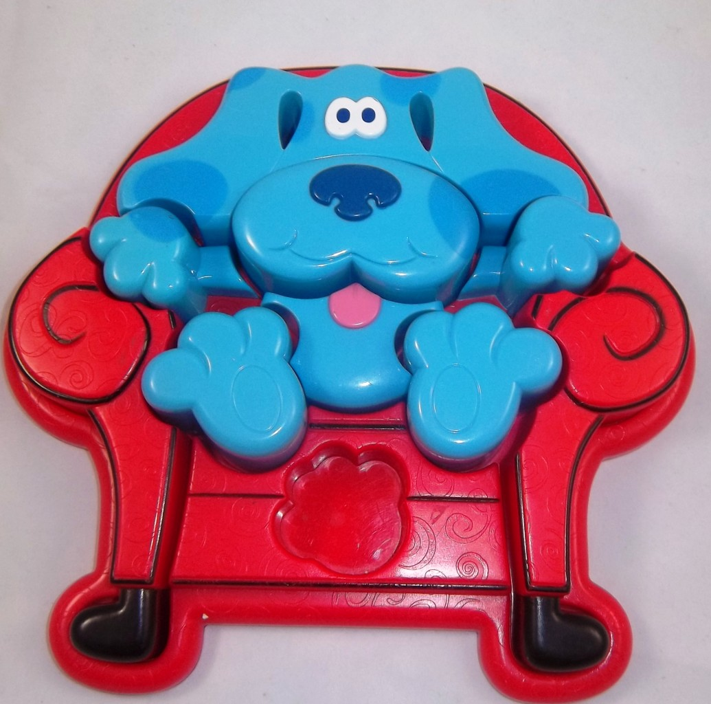 Nick Jr. Blues Clues Toys DVD Game Book Handy Dandy ...