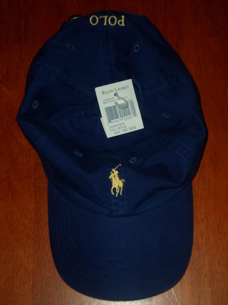 nwt new polo ralph lauren adjustable baseball cap hat. Black Bedroom Furniture Sets. Home Design Ideas