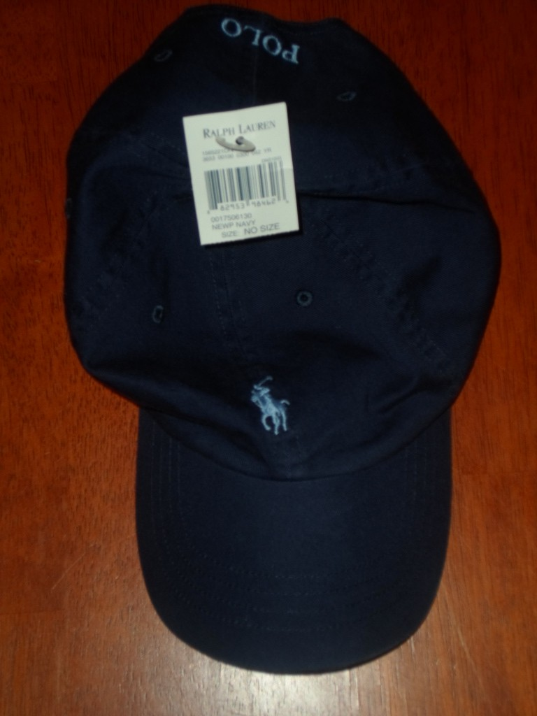 Nwt New Polo Ralph Lauren Adjustable Baseball Cap Hat