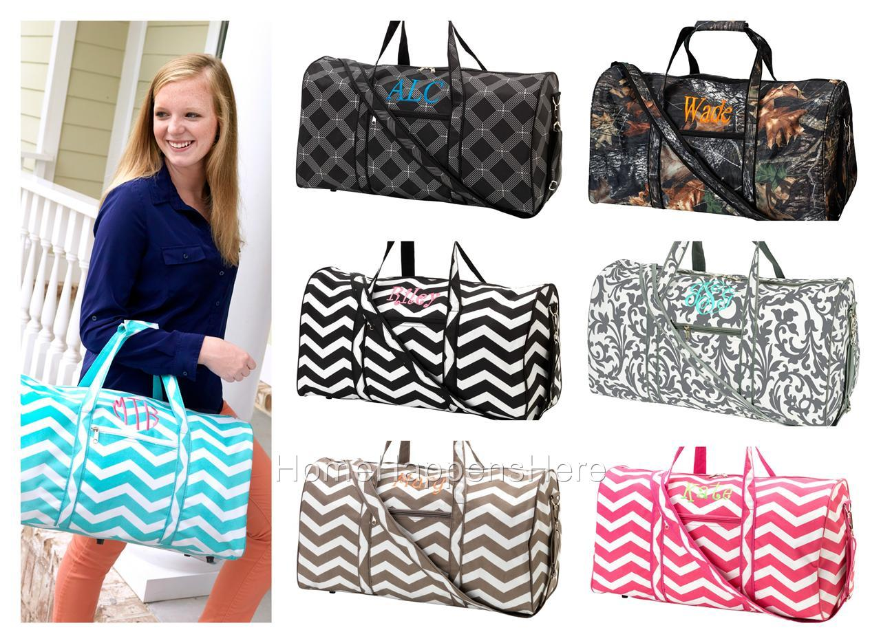 Well known Monogram Tote Bags: Thirty One Duffel Bag VY93