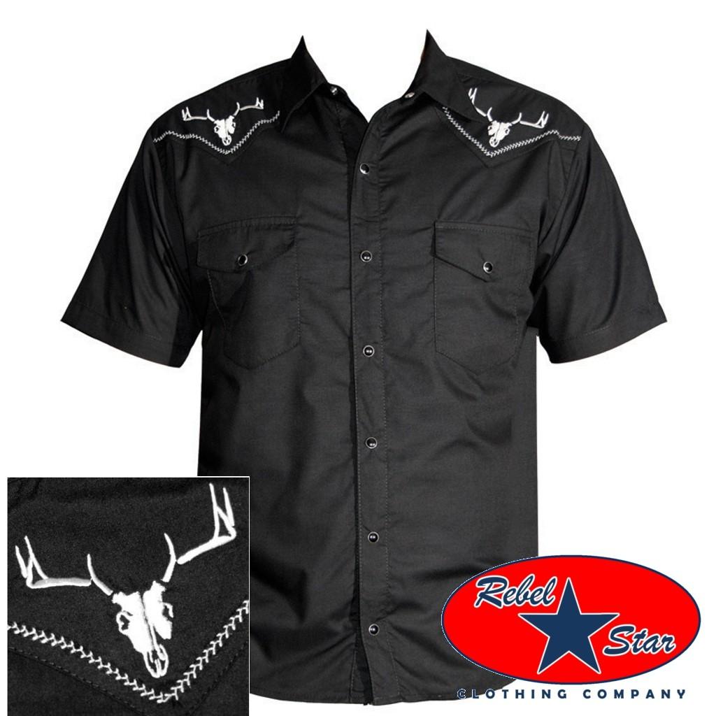 5da45f537ee51 A imagem está carregando Bullseye-constante-Western-Camisa-Cool-Country- Rodeio-Cowboy-
