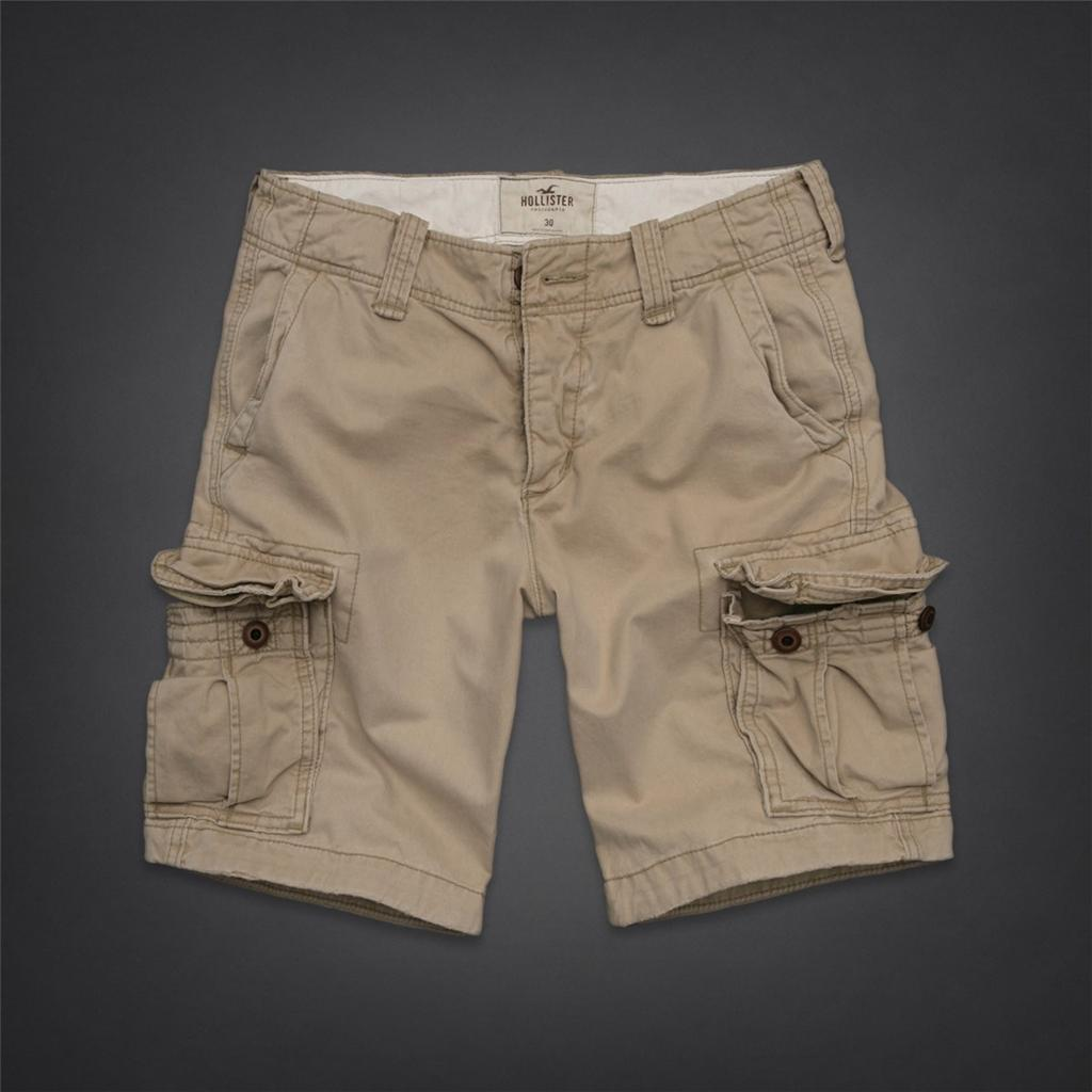 Abercrombie Fitch Accessories Abercrombie Fitch Womens: Hollister By Abercrombie & Fitch Cargo Shorts At The Knee
