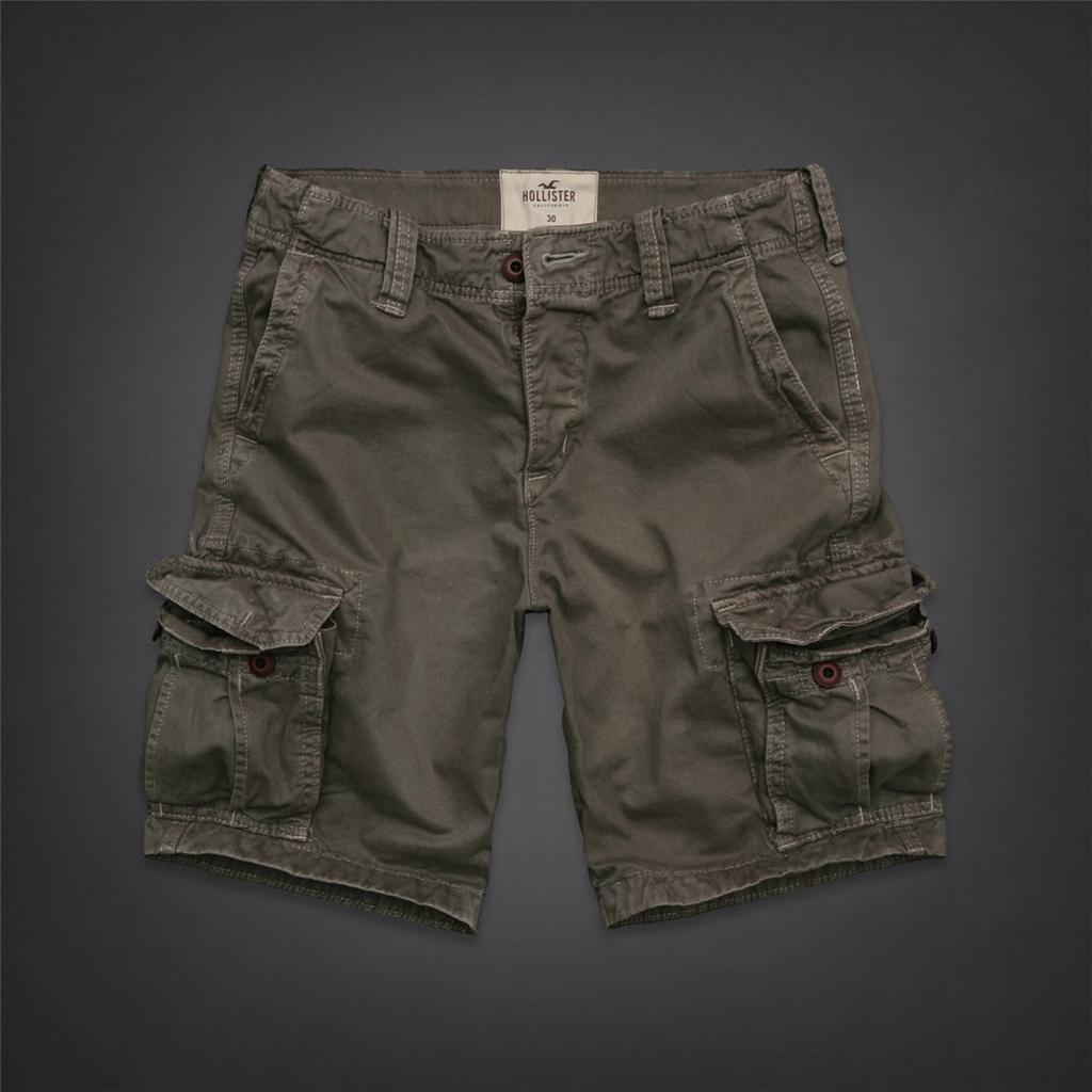 Abercrombie Accessories Abercrombie Accessories Abercrombie Womens Abercrombie Couple Abercrombie Womens: Hollister By Abercrombie & Fitch Cargo Shorts At The Knee