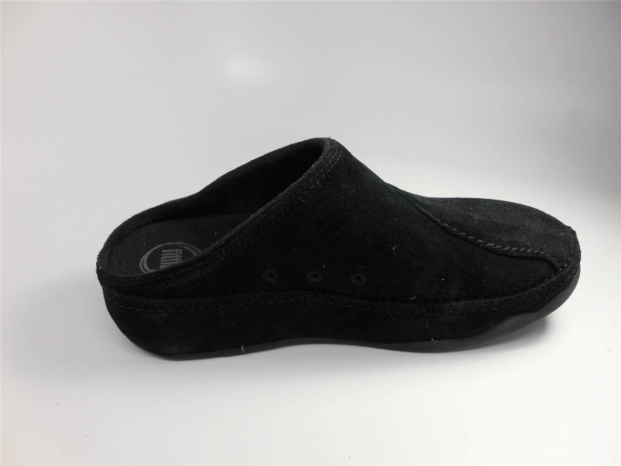Fitflop Gogh Suede Women Suede Mules Clogs Shoes New Ebay