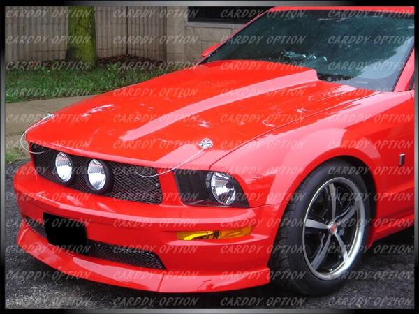 Ford Mustang Cowl Style Functional Ram Air Fiberglass Hood