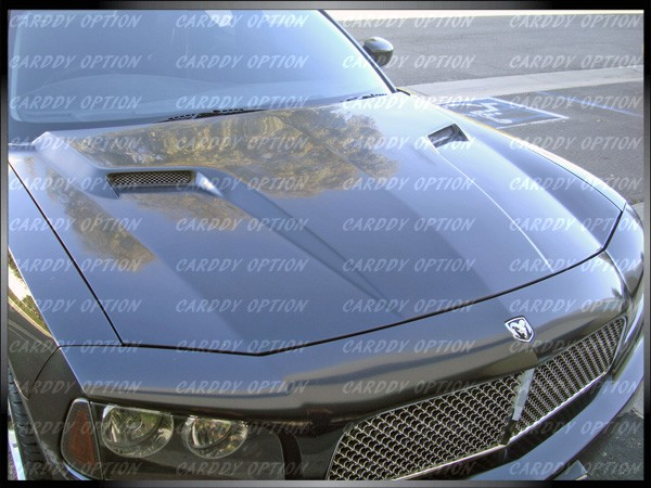 06 10 Dodge Charger AIT CLS Style Functional Ram Air Fiberglass Hood