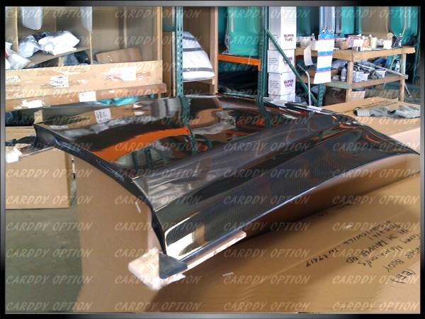 Ford Mustang Type 4 Functional RAM Air Intake Carbon Fiber Hood