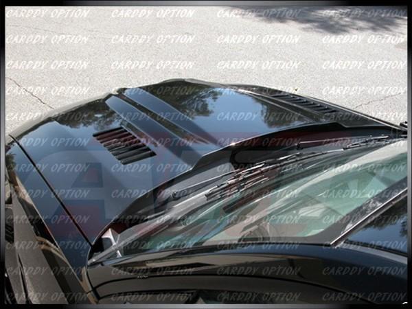 05 09 Ford Mustang Type SM Functional RAM Air Fiberglass Engine Hood