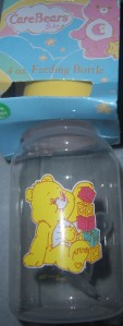 Care Bears Baby Bottle, Funshine, Love A Lot, Bed Time, resale