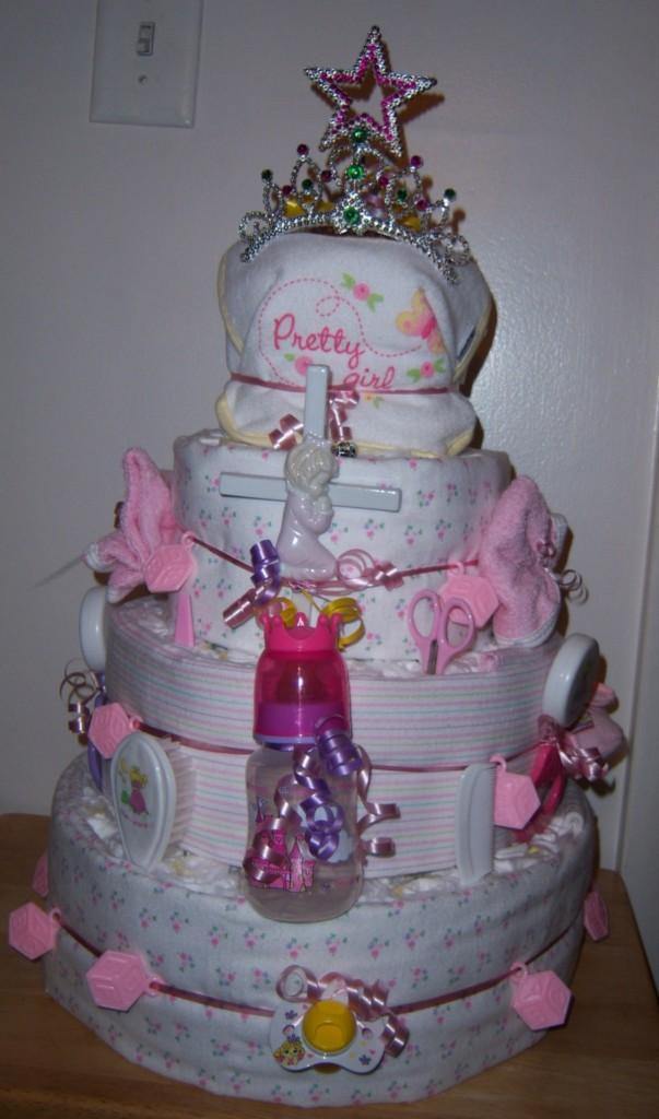 Baby Shower 4 Tier Diaper Cake Winnie The Pooh Precious