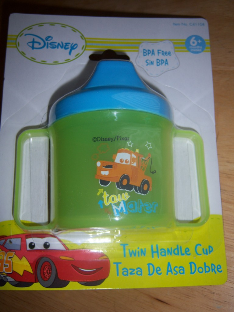 New Disney Cars Sippy Cup Lightning Mcqueen Mater Baby
