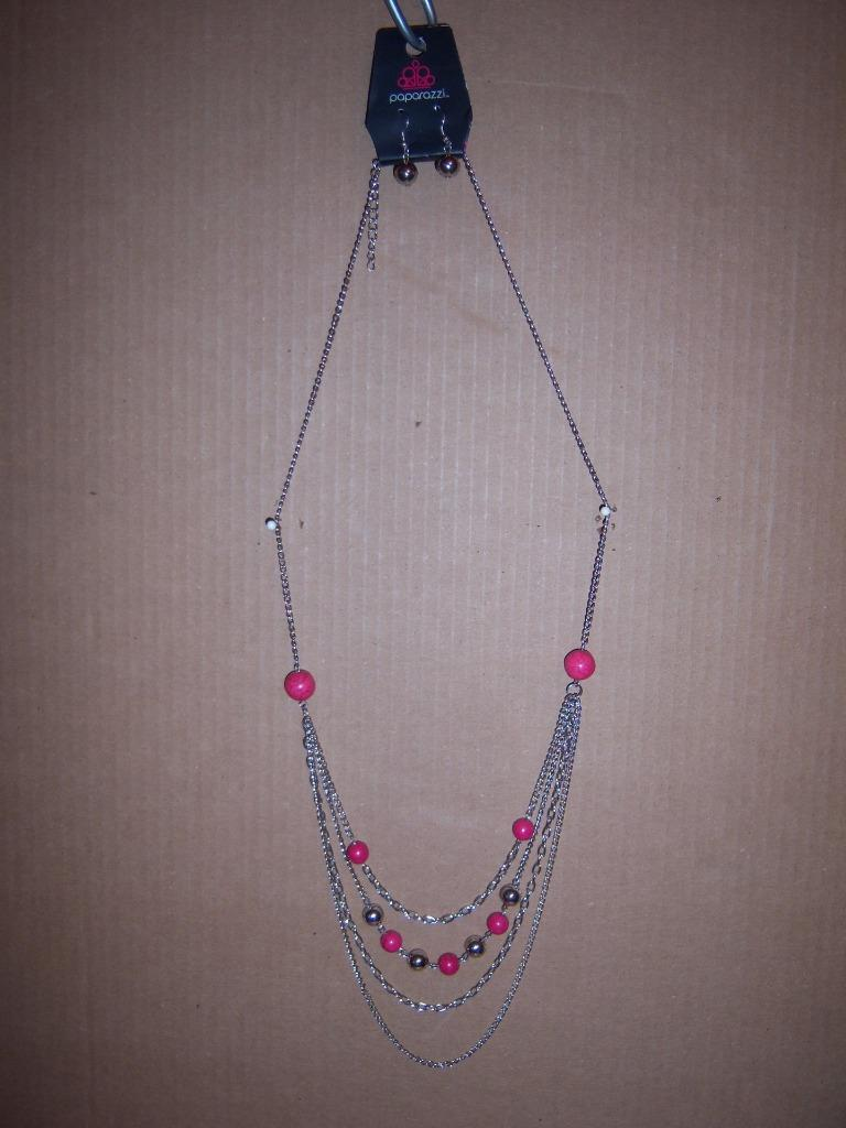 T3X New Stylish Paparazzi Necklace /& Matching Earrings,Multiple Choices