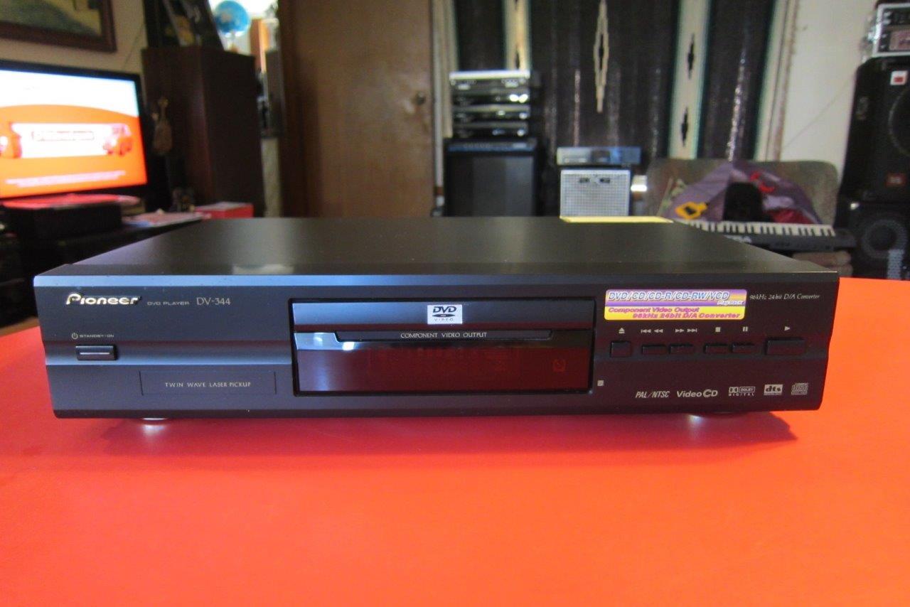 pioneer dv 344 dvd player ebay. Black Bedroom Furniture Sets. Home Design Ideas