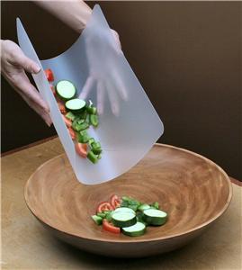 2 4 6 Flexible Plastic Kitchen Chopping Mat Mats