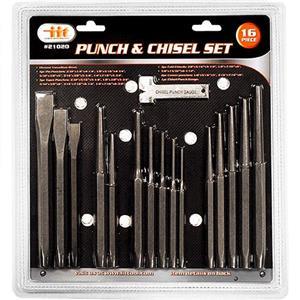 16pc Industriel Mécanique Punch /& Chisel Set Pin Conique Center Cold Roll Gauge
