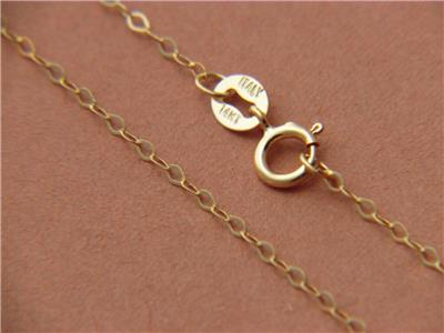 17 Inch 3mm Flat Heart Cable Chain Necklace