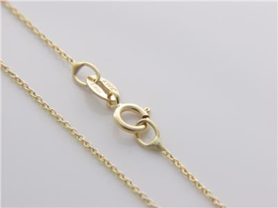 silver sterling chain inch plated cable necklace