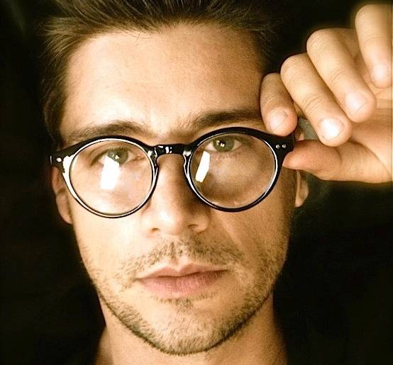 50 S Vintage Retro Oval Round Circle Frame Clear Lens
