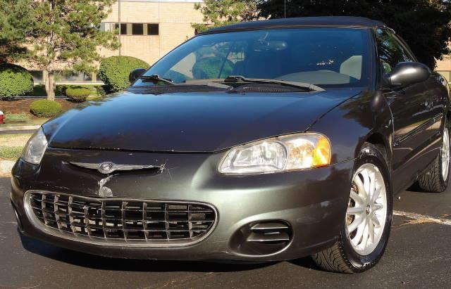 2002 chrysler sebring lx convertible blue l k used. Black Bedroom Furniture Sets. Home Design Ideas