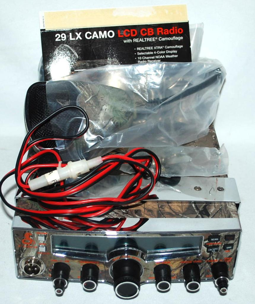 Cobra Electronics 29 LX Platform CB Radio Realtree Camo