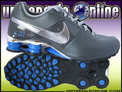 efea7c4c938 NIKE SHOX DELIVER MENS SIZE 11 GRAY CHROME BLUE RUNNING MAX PLUS on ...