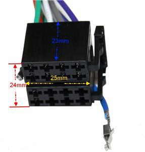 adaptateur fiche faisceau cable iso c2059 autoradio pour. Black Bedroom Furniture Sets. Home Design Ideas