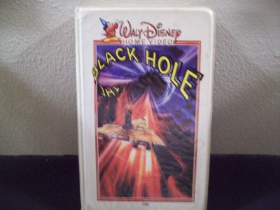 VINTAGE ORIGINAL WALT DISNEY VHS THE BLACK HOLE 1979 ...