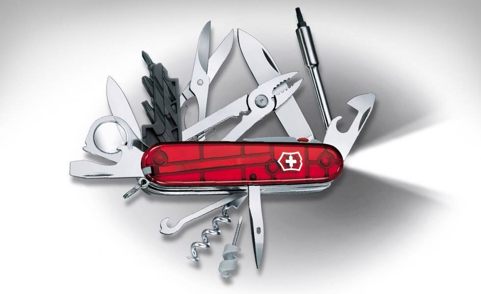 New Genuine Victorinox Swiss Army Knife Cybertool 34 Lite