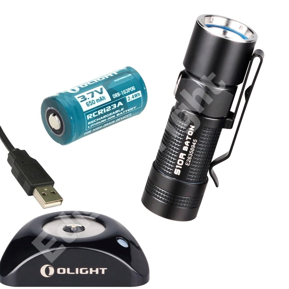 New Olight S10r Usb Rechargeable 400 Lumen Cree Led