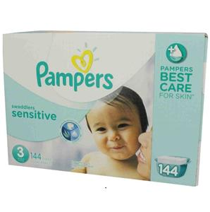 New Pampers Swaddlers Sensitive Diapers Size 4 Economy