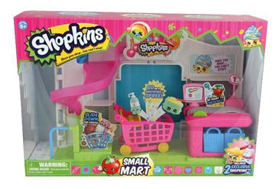 NEW Shopkins Little Girls Supermarket Small Playset ...
