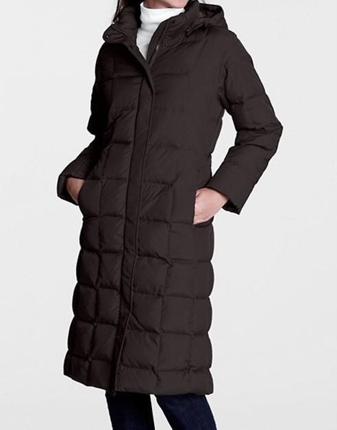 Lands end womens down coat