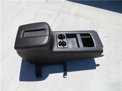 07 14 chevy silverado gmc sierra lt2 sle ebony black center floor console oem ebay. Black Bedroom Furniture Sets. Home Design Ideas