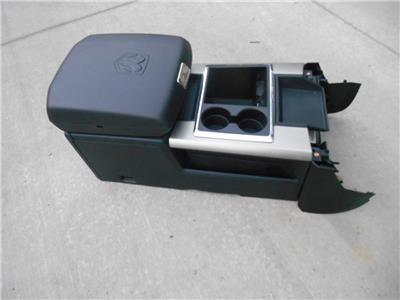 09 14 dodge ram black center floor console 1500 2500 3500 10 11 12 13 crew cab ebay. Black Bedroom Furniture Sets. Home Design Ideas