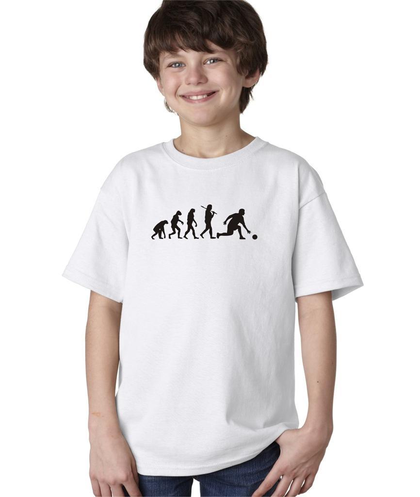 Kids Boys Childrens Evolution of Man Bowling Ball Pins ...