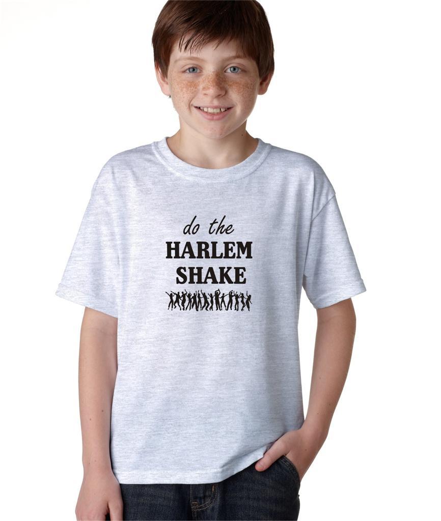 Kids Boys Childrens Do The Harlem Shake Funny T-Shirt Tee ...