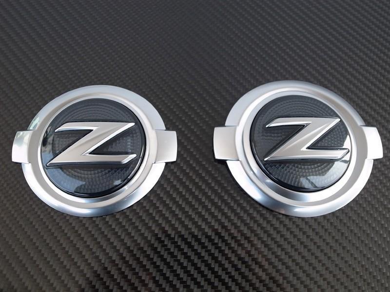 Jdm Smoke Z Logo Emblems X 2 For 2009 2019 Nissan 370z Ebay